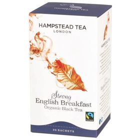 Hampstead | Strong English Breakfast - herbata czarna (saszetki) 45g | ORGANIC - FAIRTRADE