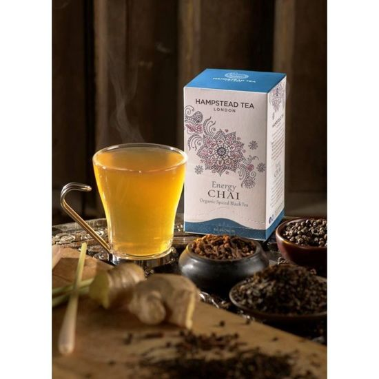 Hampstead | Energy Chai (saszetki) 250szt. | ORGANIC - FAIRTRADE