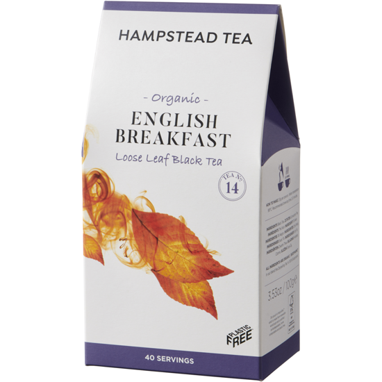 Hampstead | English Breakfast - herbata czarna (liściasta) 100g | ORGANIC